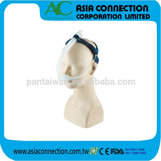 ME6159 Headgear and FDA & CE Regulations with Medical graded silicone of Nasal Pillow CPAP Mask