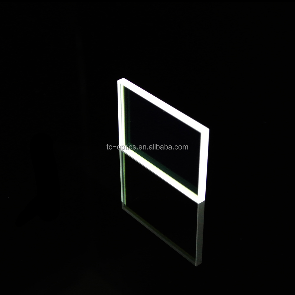 Optical glass window clear tempered glass