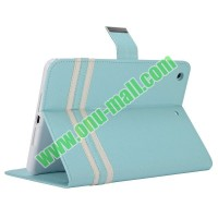 hot selling Cross Texture Flip Leather Case for iPad Mini case