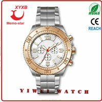fun for car description of wrist watch ETS logo date