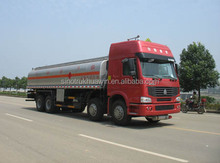 China popular fuel tank truck/oil tank truck with capacity 35000 litres
