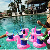 Inflatable Flamingo Cola Sets Of Water