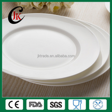 Hotels and restaurants chinaware flat plates