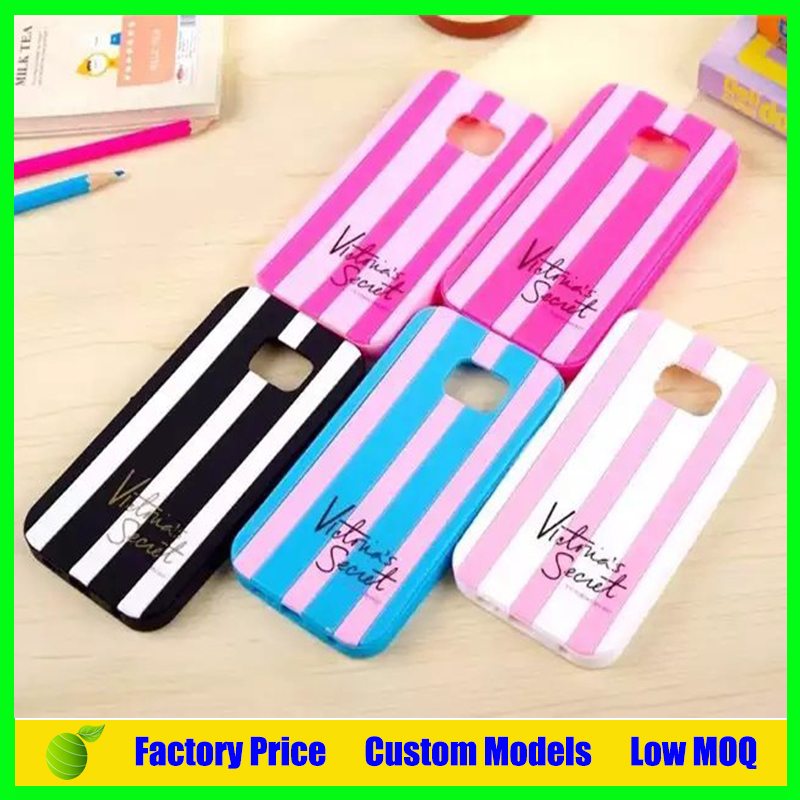 For Victoria's secret silicone phone case for samsung galaxy note 2 n7100 cell phone case