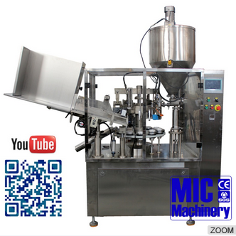 Micmachinery High Performance MIC L-60 Automatic Aluminum Tube cigarette filling sealing machine