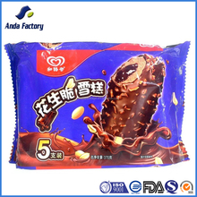 customized printing ice cream packaging bag, frozen food package