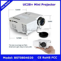 UC28+ Mini Projector,NO.309 portable unic uc30 projector