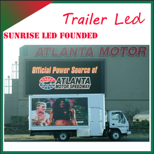 led truck display screen used armored truck for sale