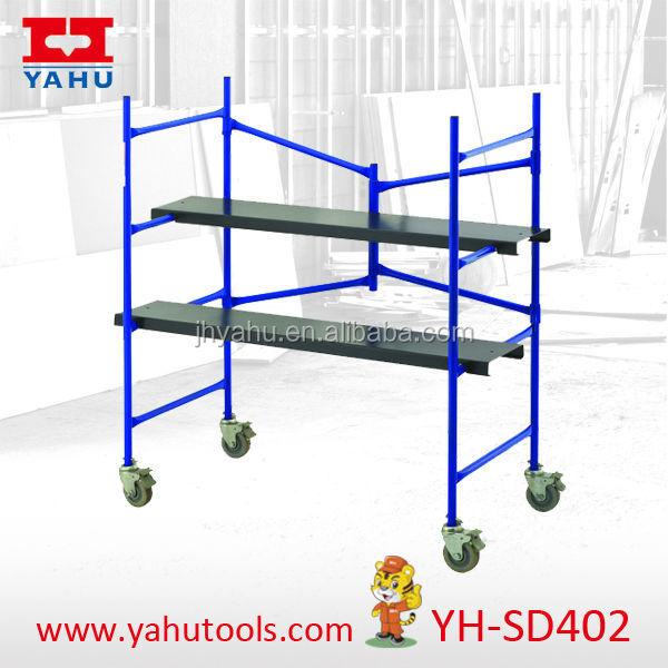 Indoor Scaffolding Platform : Indoor scaffolding mobile mini rolling scafflold view