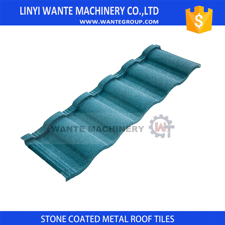 Quality galvanized steel tile roof garden bars roofing material&stone coated tiles With Good Sealing Device