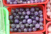 Hot Sale Small Sizes Natural Amethyst Crystal Sphere Ball / Real Healing Crystal Balls Wholesale