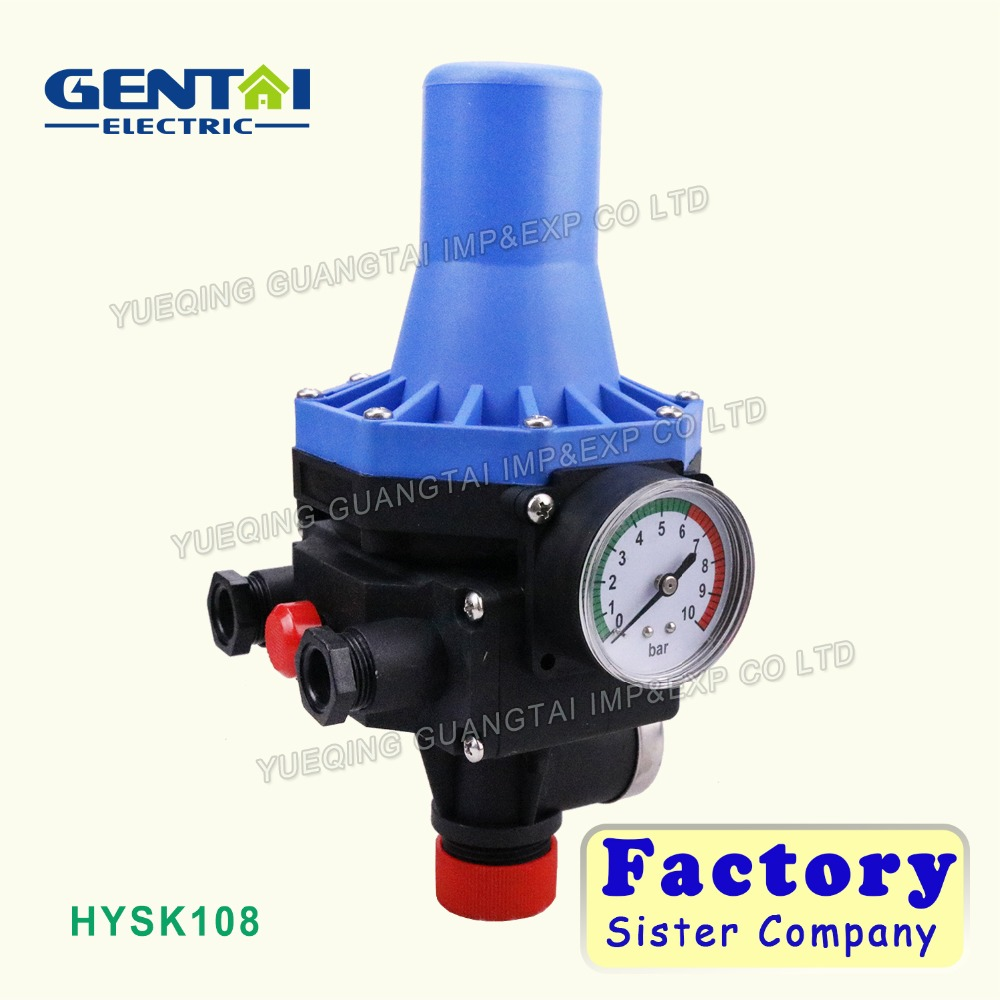 automatic pressure control switch for water pump/water pump electronic pressure switch