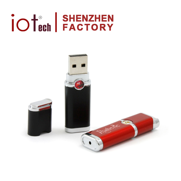 Creative Novelty Gadget Shining Ruby Jewels Lighter Flash Drive USB 16gb