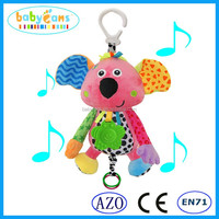 babyfans Plush musical hanging toys pink Koala newproducts for babies