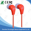 The latest style of Good price Mobile Phone In-Ear disposable Earphone headphone earbuds headset
