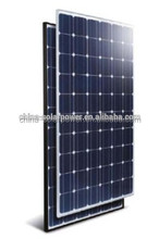 2015 Good Quality High Efficiency low price 12v 180w solar panel