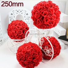 Decorative artificial flower ball for wedding