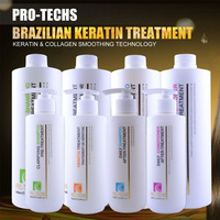African Brazilian Cosmetic Keratin Treatment Straightening Hair Products, Formaldehyde Free/Formaldehyde