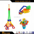 Toy plastic blocks snowflake customize block toys funny bricks