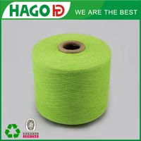 9s recycled cotton polyester blended yarn , terry cloth