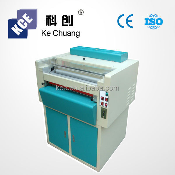 CE UV varnishing and coating machine