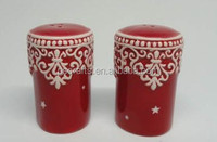 Hot sell ceramic salt and pepper for wedding