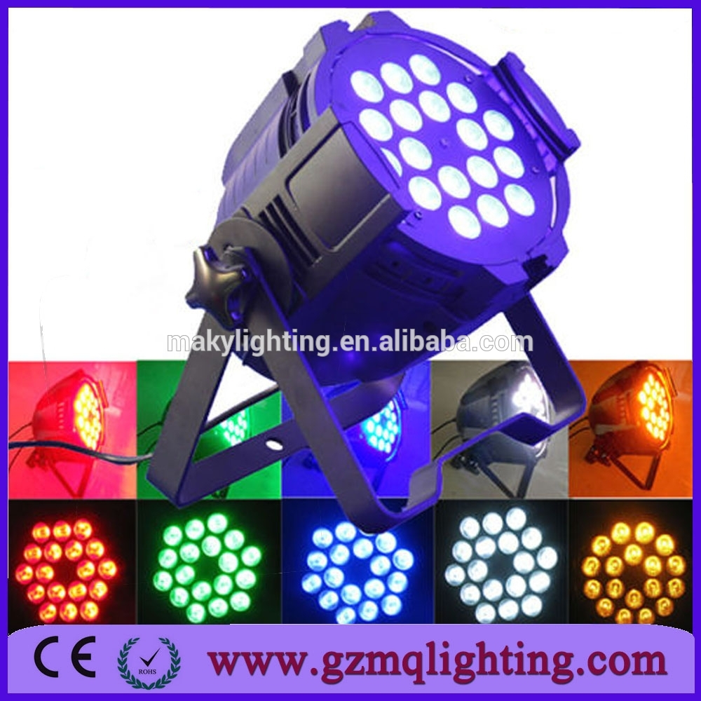 2015 best selling products indoor RGBWA 18x15w LED par 64