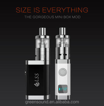 electronic cigarette shop -china LSbox 20W Ceramic vaping box Gravity Sensor Adjustment box mod