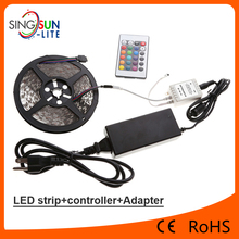 2017 most popular led strip lights Cuttable 60LED CE ROHS LED Flexible Strip Light led light kits