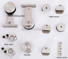 Best Choice Products Stainless Steel Interior Sliding Door Hardware Track Set