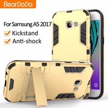 Attractive Appearance Shockproof kickstand handphone case for samsung galaxy a5 2017
