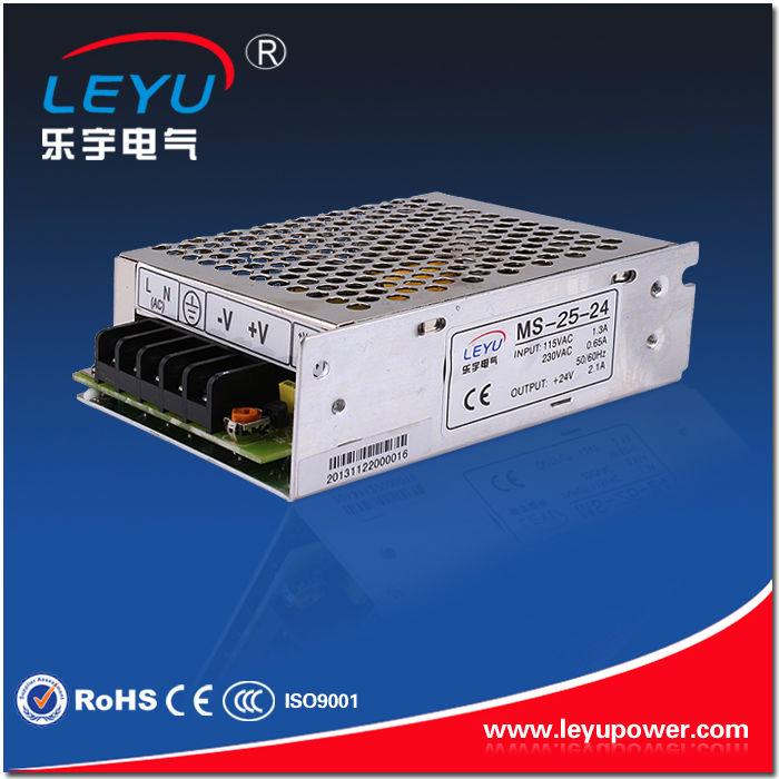 Factory outlet 12v/24v mini dc power supply S-25 <strong>w</strong> for led strip light