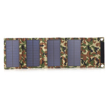 8w Foldable Solar Panel Charger Outdoor Use Emergency Power Charger For Mobile Phone Use