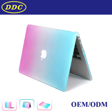 Free Sample Rainbow Colorful Image Case Shell for Macbook Pro Retina Laptop