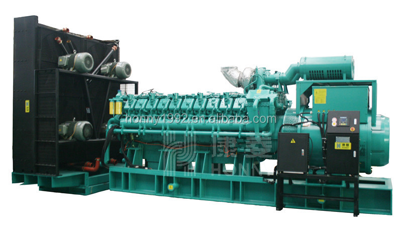 Googol Blend Engine 2000kW 2500kVA Diesel Natural Gas Fuel Generator set