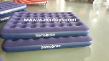 Single Size flocked air mattress,air bed inflatable mattress for sale