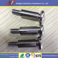 OEM CNC lathe Stainless steel shoulder bolt/ Socket shoulder screw/Stripper bolt with nut