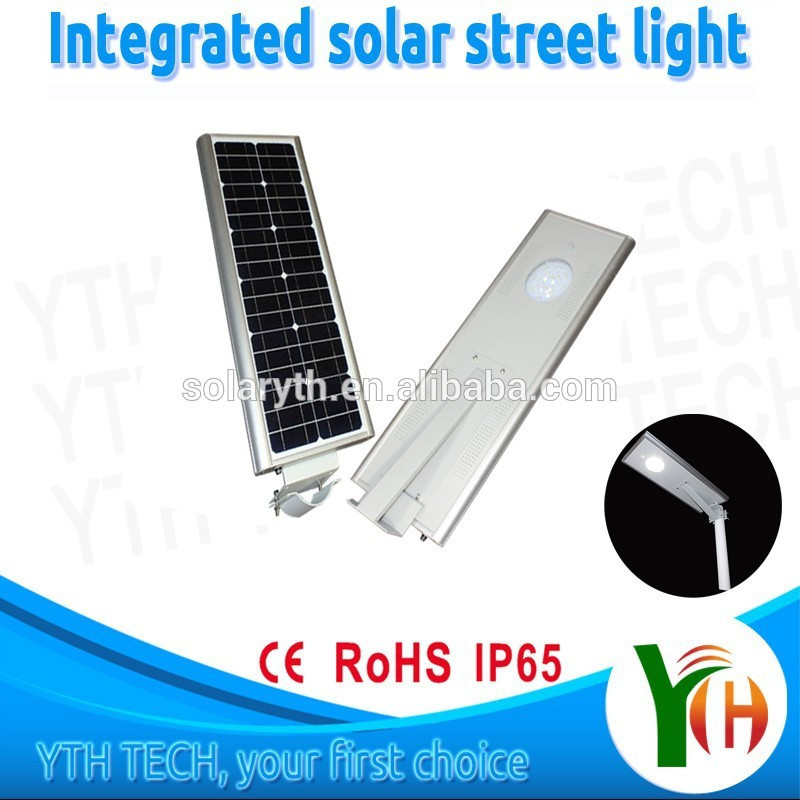 Morocco Market 18W LED High Brightness All In One Outdoor Solar Street Lights