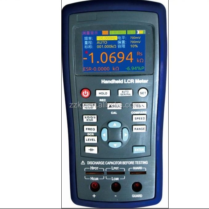Lcr Meter High Voltage : High quality handheld digital lcr meter et series buy