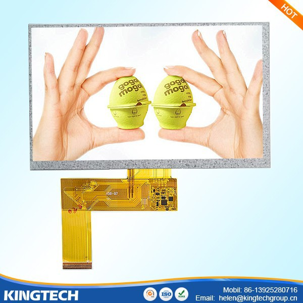 7 inches tft lcd color monitor