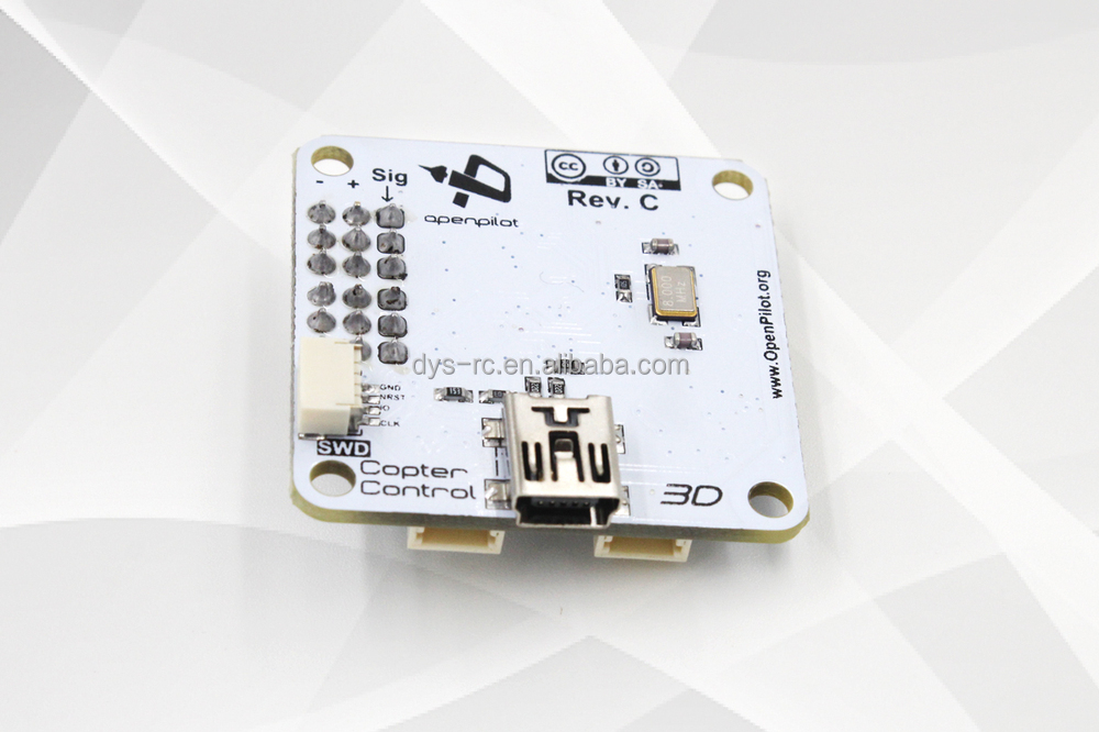 DYS-Openpilot CC3D Open Source Flight Control Staight Pins Flexiport for Mini Multicopter with Size 450 without GPS