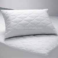 Comfortable Polyester Filling Cotton Quilting White Pillowcases