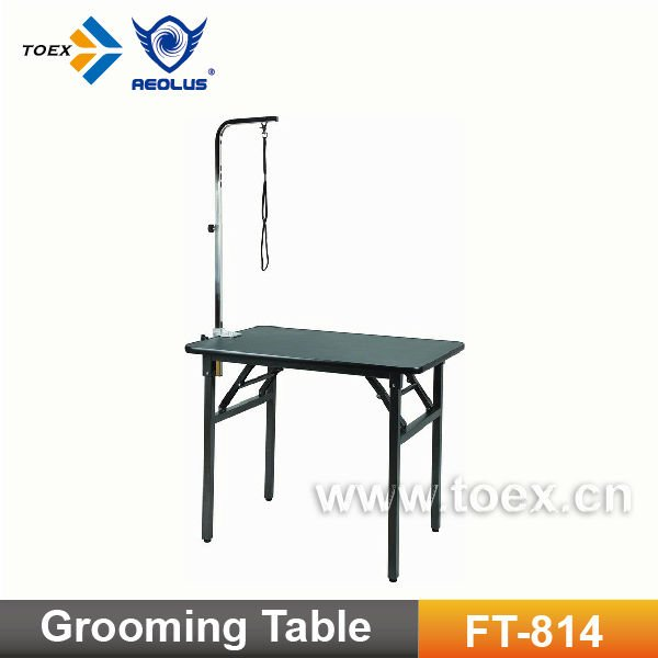Super light weighted dog grooming table