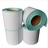 direct thermal label 4 x 6 adhesive barcode sticker roll paper for zebra
