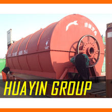 CE ISO BV 2000 demo factory used tire pyrolysis plant for sale
