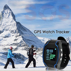 "new Quad Band 1.5"" GPS Tracker Wrist Watch GSM GPRS listening in Tracking gps101"