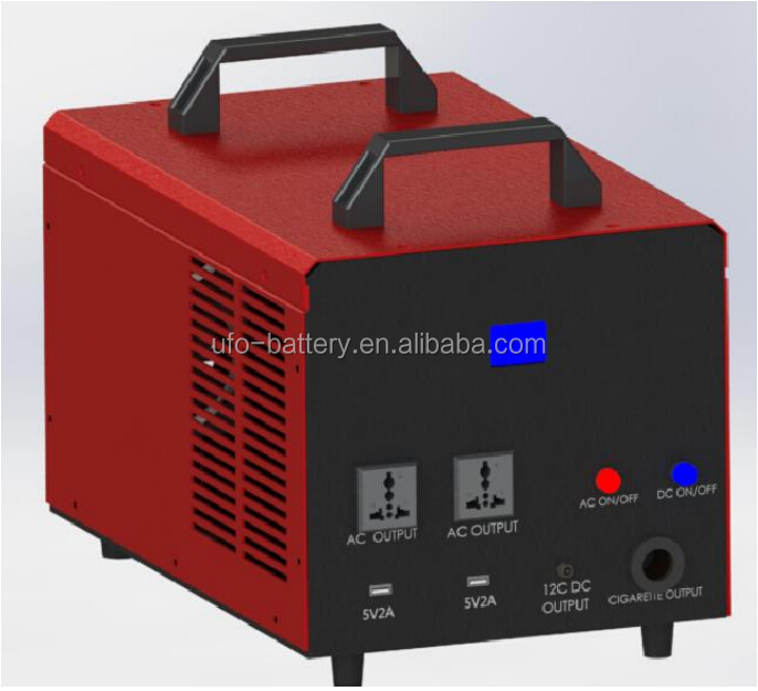 2kwh Energy Storage System battery pack with multi-functional inverter for home backup power, camping, RV power supply