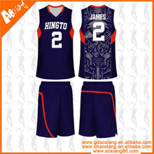 Popular high class sublimation Fast-dry basketball training shirt