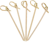 Cocktail decorative bamboo knotted skewers