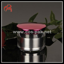 Mushroom shaped cosmetic containers/cosmetic jars